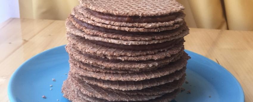 Natascha bakt stroopwafels