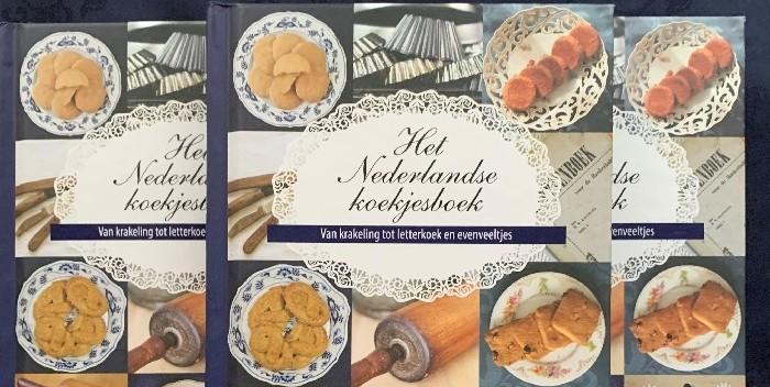 Het Nederlandse koekjesboek 3 covers