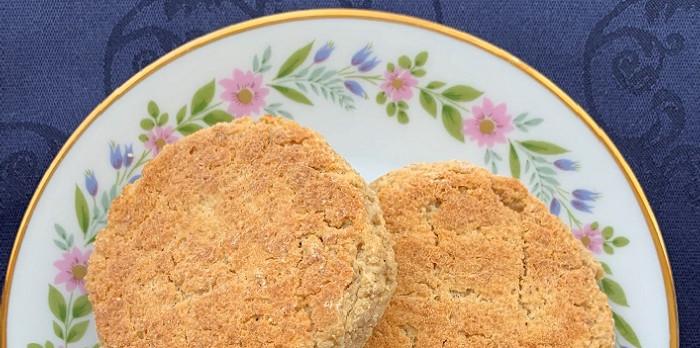 Wrongelkoekjes suikervrij tarwevrij Het Nederlandse koekjesboek nvds